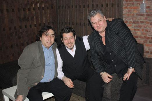 Luigi Bongiovanni , Alberto Moreno et Dan Peeters