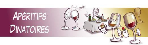 Apéritifs dinatoires, verrines et tapas accordés avec les vins