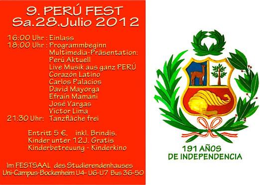 FIESTA PERUANA 2012