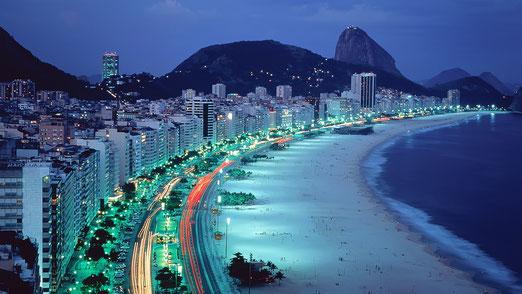Copacabana Nachts