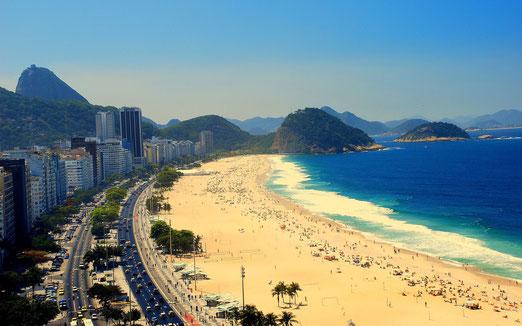 Copacabana, princesinha do mar...