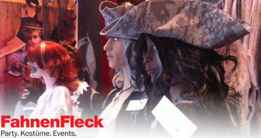 Hol Dir Dein Halloweenoutfit bei FahnenFleck direkt in Hamburg. Klicke dazu einfach auf das Banner!