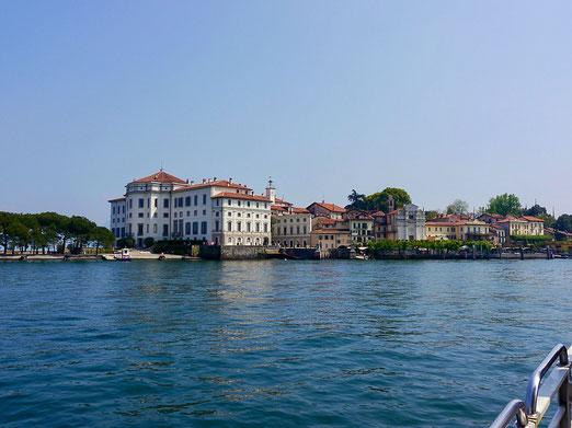 Gartenreise Italien:Isola Bella am Lago Maggiore, Insel der Schönheit