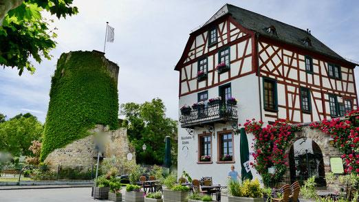 Städtereise Deutschland, Eltville im Rheingau Eltville am Rhein, Wein,Sekt und Rosenstadt