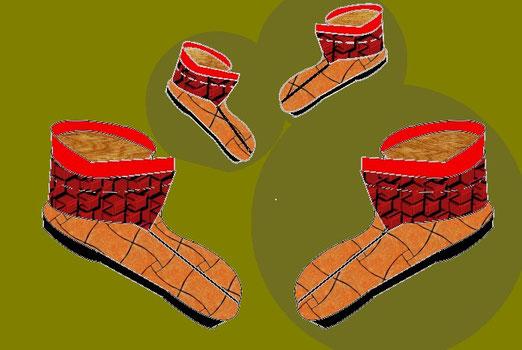 Schuhe im Mythos, in Sagen und Märchen