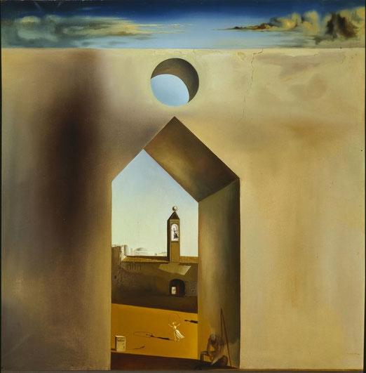 """Salvador Dalí, """"Eco nostalgica"""" (1935)"""