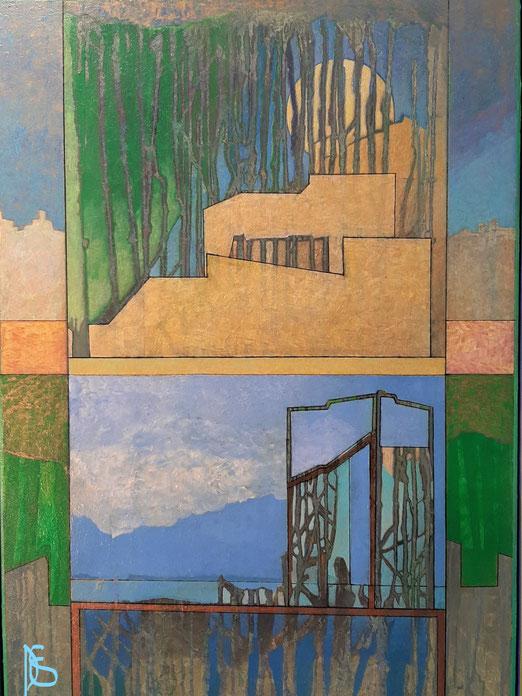 Lib 18/20 Peinture acrylique sur toile 65 x 92 cm