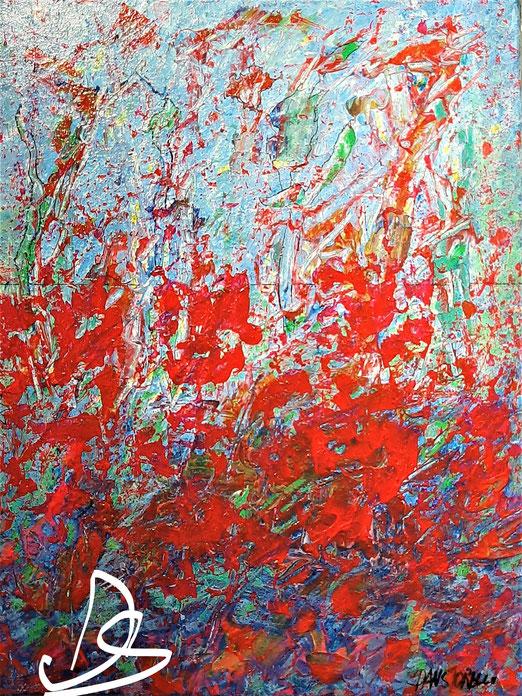 Nat 20/2 Peinture Acrylique sur Toile 32 x 48 cm