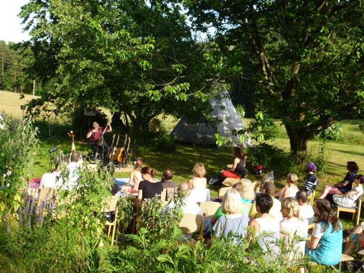 FreiRaum open air mit Weltmusiker Krishn Kypke