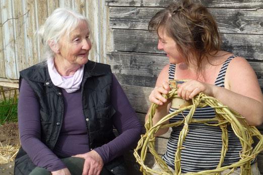 Dialog der Generationen: Wilhelmine und Sarah
