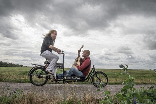 Stefan Johannson mit Krishn Kypke auf dem Weg in die Pfalz!