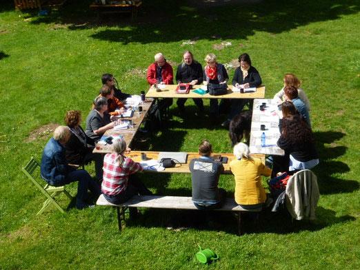 Mitgliederversammlung der RAG Anderes Lernen auf dem Reinighof
