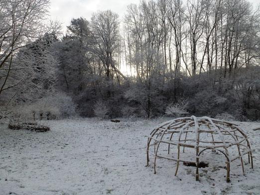 Jetzt ne schöne heiße Schwitzhütte...