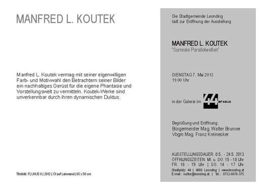 EINLADUNG - KOUTEK - MAI 2013 - text
