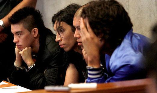 Les 4 présumés coupables (ce reportage de CNN Chile est en espagnol)