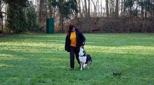 Annette und Miss Shelly