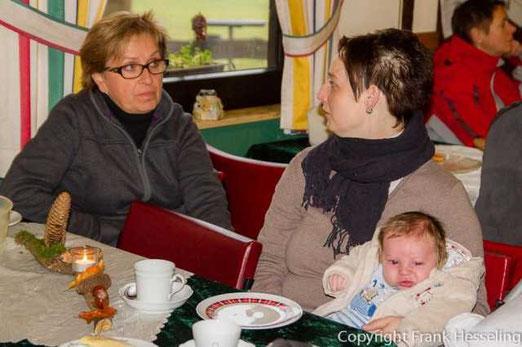 Sabine, Jessi und Henning