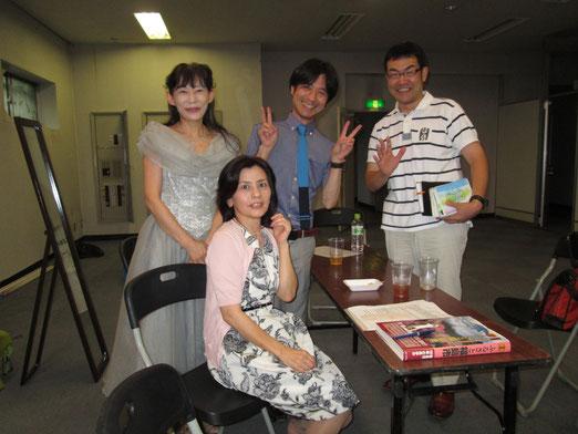 和合さん、掃部さん、森藤さんと記念撮影