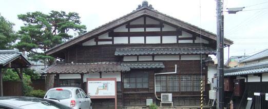 吉田千秋氏の生家