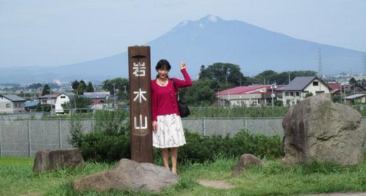 岩木山(津軽富士)が綺麗!