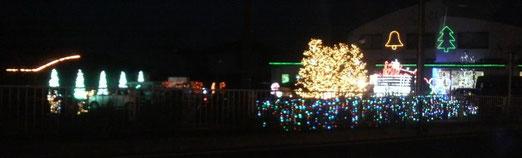 帰りの車窓から☆Merry Christmas☆