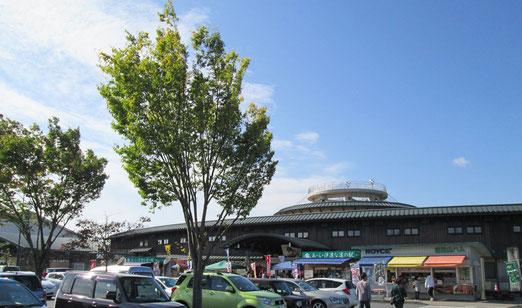 見事な秋晴れの ア・ラ・伊達な道の駅