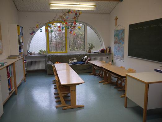 Einer von drei Gruppenräumen