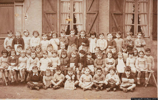 Ecole primaire élémentaire Plaisance du Gers Olleris 1951
