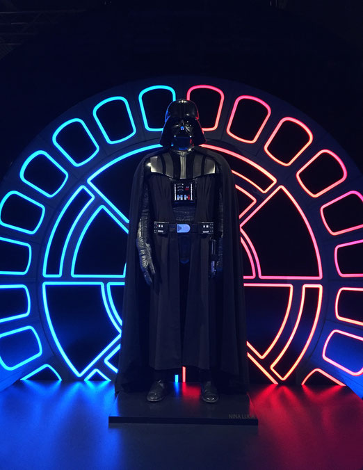 image: nina luca, star wars, star wars identities, star wars münchen, star wars exhibition, jedi, lightsaber, sith, sith lord, darth vader, dark side
