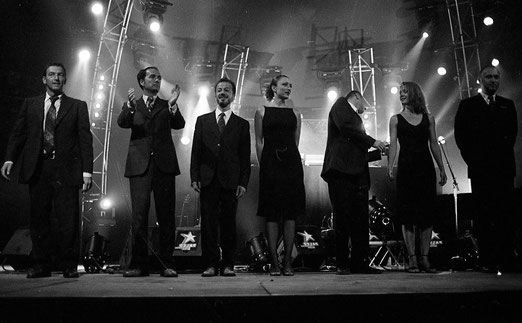Gotan Project : Halle aux Grains. Toulouse.