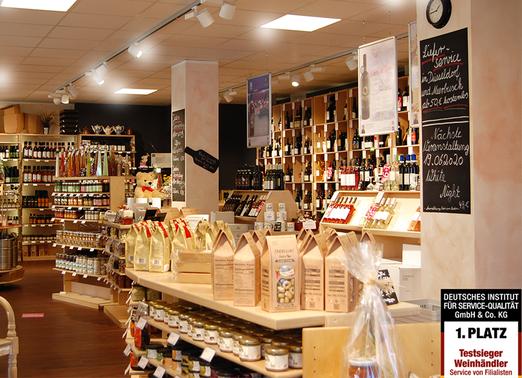 Nordstrasse einkaufen shopping Düsseldorf Wein Öl Spirituosen