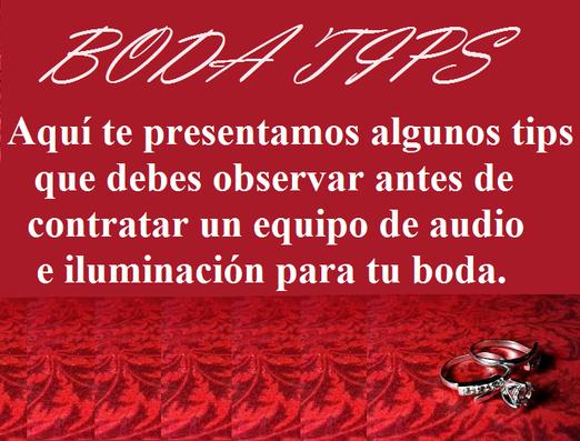 Tips para boda Seleccto DJ