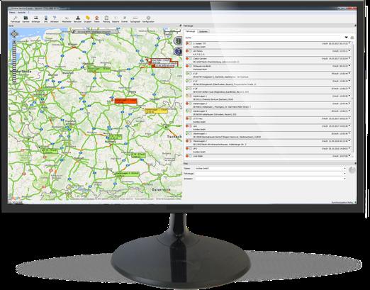 GPS-Fahrzeugortung