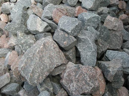 бутовый камень гранитный 70-250 мм с доставкой
