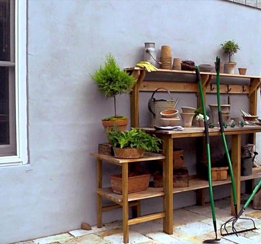 Стол садовый,стол деревянный,стол рабочий