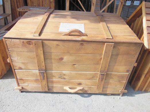 Компостный ящик деревянный