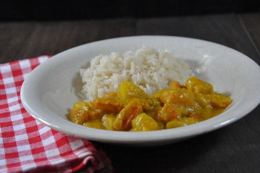 Kartoffel Kürbis Curry aus dem Thermomix, One Pot Kartoffel Kürbis Curry, vegan, schnell und einfach