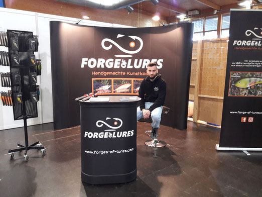 Messestand Forge of Lures Magdeburg