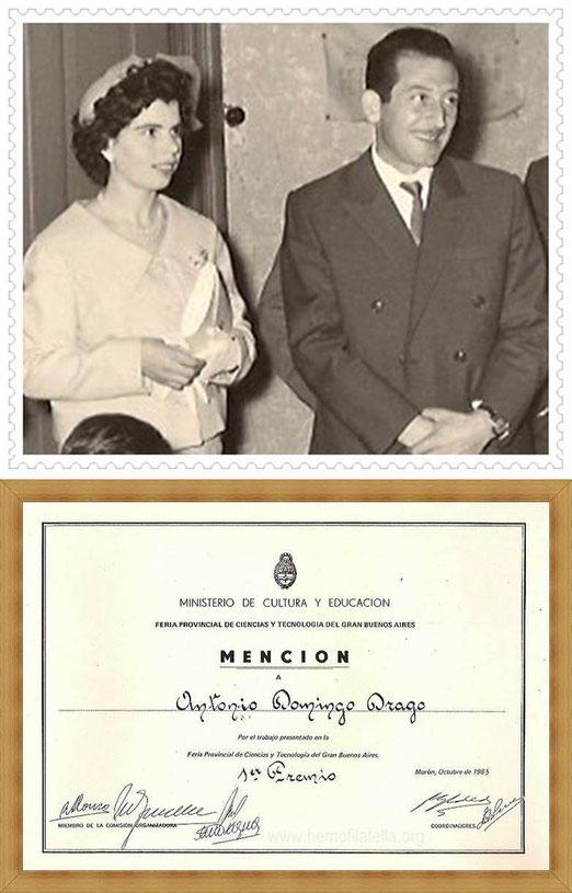 Ellos SIEMPRE ESTÁN!!!, mis PADRES: Agostina Daino (Ama de Casa y Modista) y Rosario Drago (Agricultor y empleado papelero).