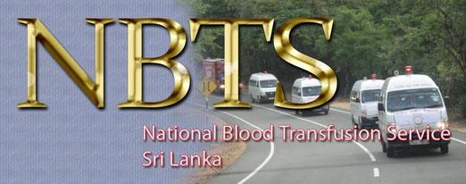 Servicio Nacional de Transfusión de Sangre de Sri Lanka.