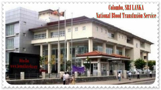 National Blood Donor Service, Sri Lanka.