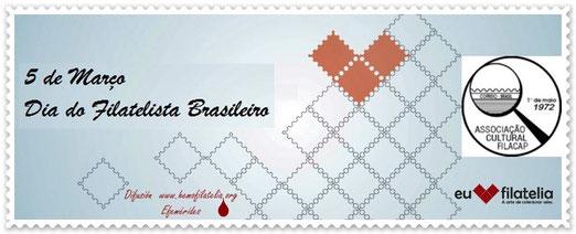 Día del Filatelista Brasilero.