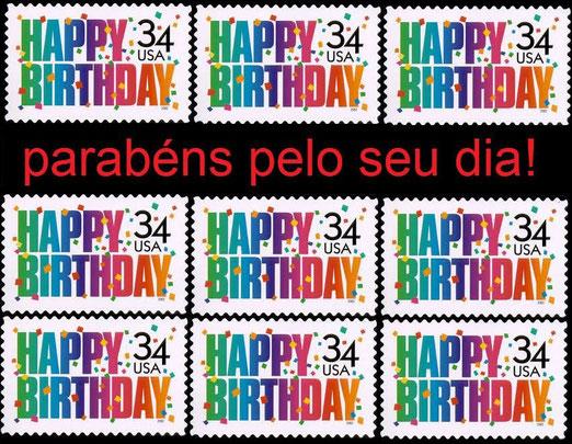 Agradezco esta foto enviada por Selos do Brasil, por mi Cumple!