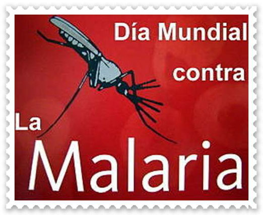 Día Mundial contra el Paludismo.