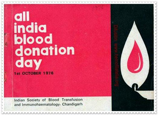 Día Nacional (India) del Donante de Sangre.