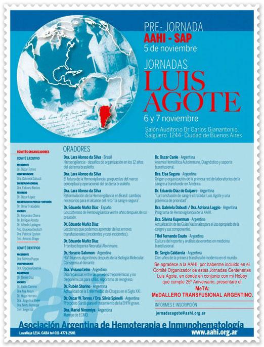 Se agradece a la AAHI su invitación para formar parte de este evento, MUCHAS GRACIAS!
