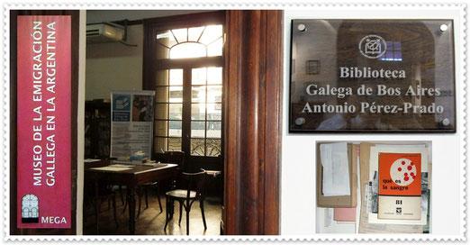 Se agradece al MEGA: Museo de la Emigración Gallega en la Argentina y Biblioteca Gallega de Buenos Aires Antonio Pérez-Prado.