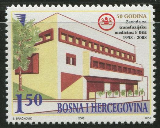BOSNIA Y HERZEGOVINA: Instituto de transfusiones, 2008.