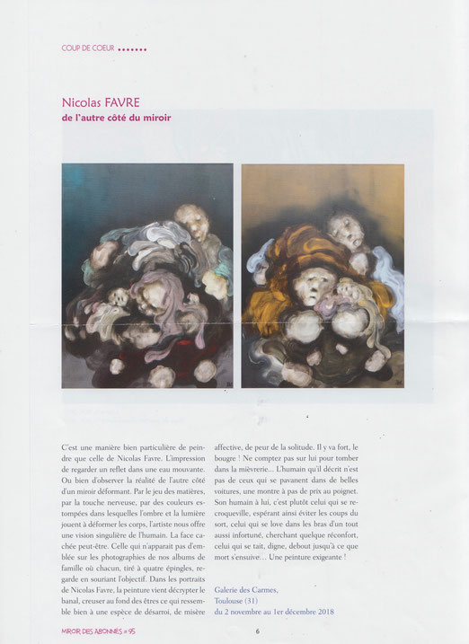 Miroir de L'Art - septembre 2018