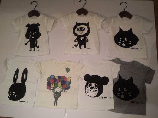 大人(メンズ、レディース)も子供も人気のネネットのTシャツが再入荷!
